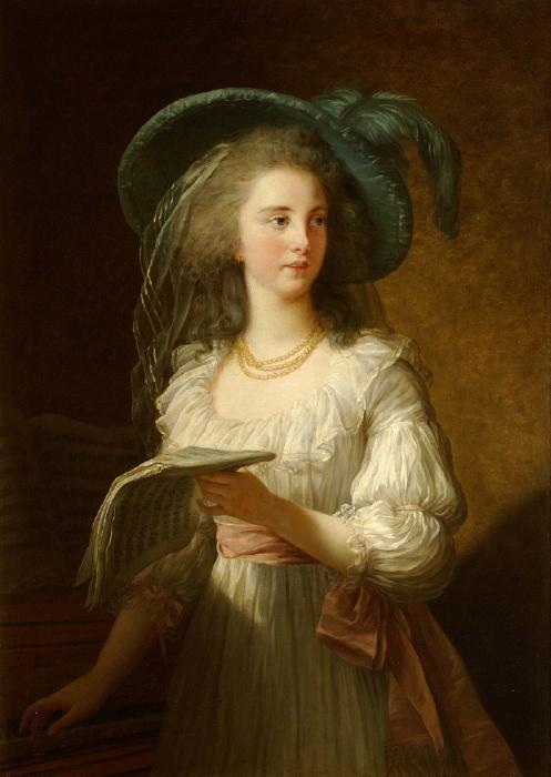 Élisabeth Vigée Le Brun, Martine-Gabrielle-Yoland de Polastron (1745–1793), duchesse de Polignac , 1783, Waddesdon Manor - National Trust
