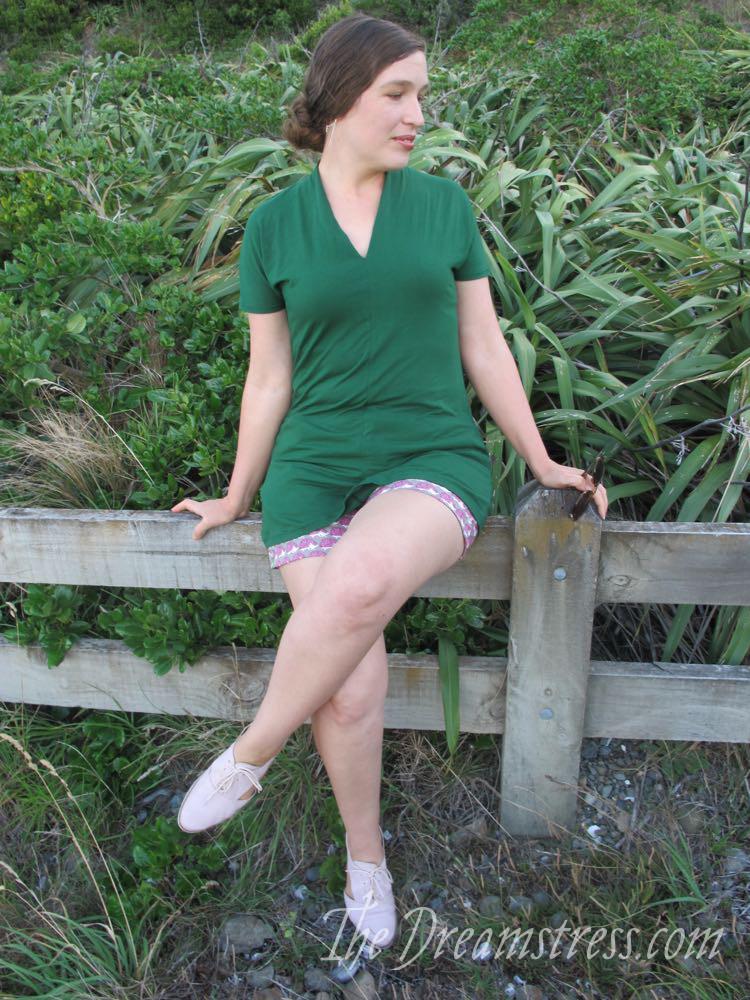 Hedgehog shorts thedreamstress.com06