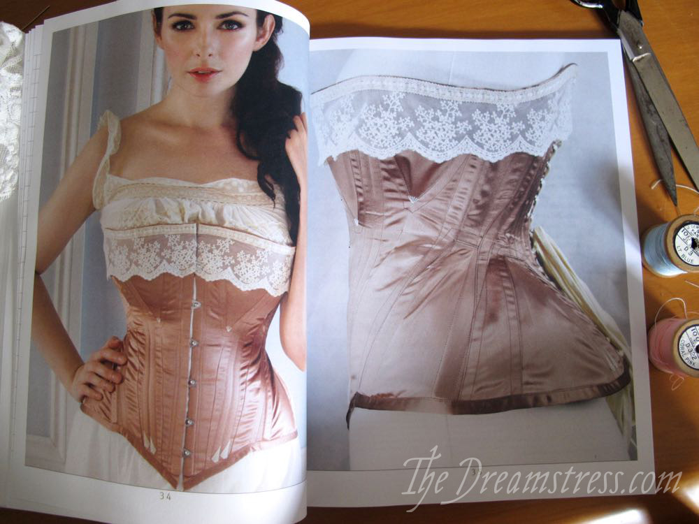 Corset Cutting & Making Review thedreamstress.com