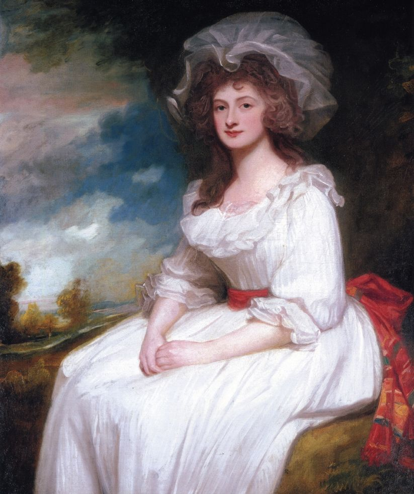 Portrait of Anne Rodbard, Mrs. Blackburn, 1787-88, George Romney