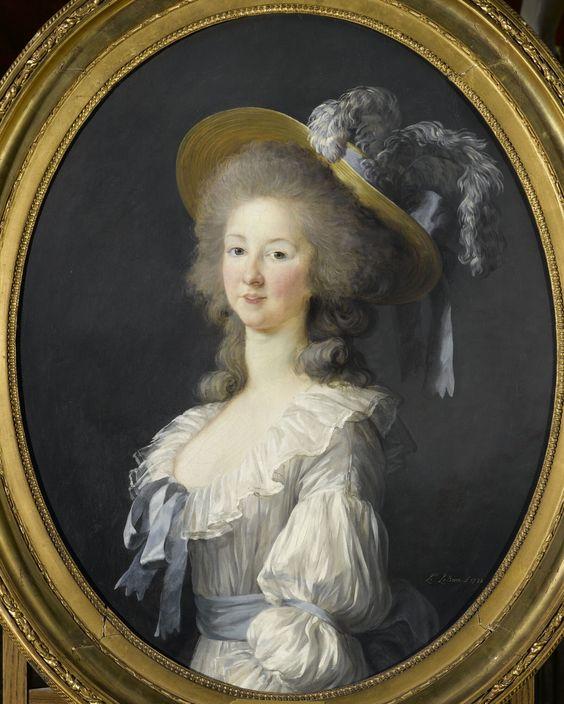 Princesse de Lamballe, 1782, Elisabeth Vigée-Lebrun