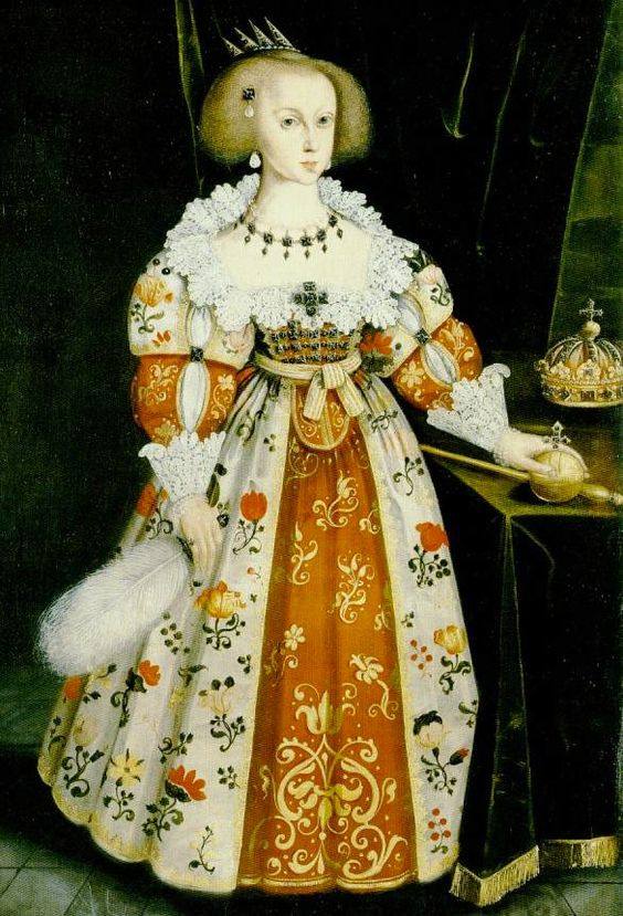Queen Christina of Sweden by Jacob Heinrich Elbfas, 1634