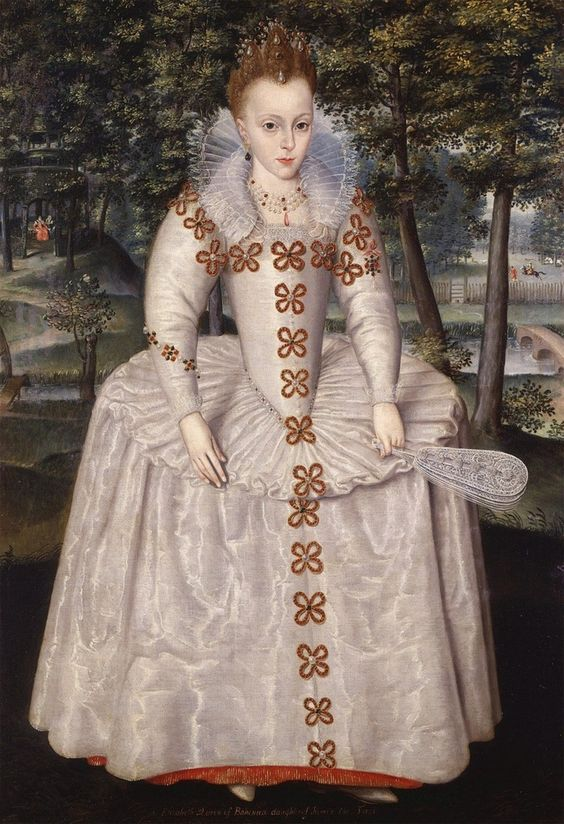Elizabeth Stuart, Princess Royal (later, Queen of Bohemia), Robert Peake (1551-1626)
