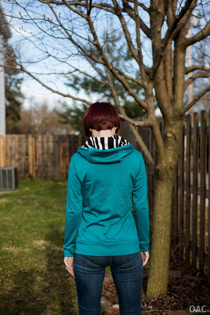 The Otari Hoodie by Scroop Patterns, sewn by Life in a Mads House @wronghandsmad