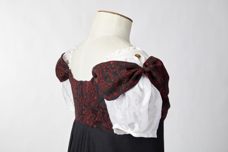 1813 Kashmiri Dress thedreamstress.com