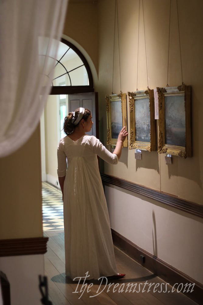 1795-1800 muslin dress thedreamstress.com