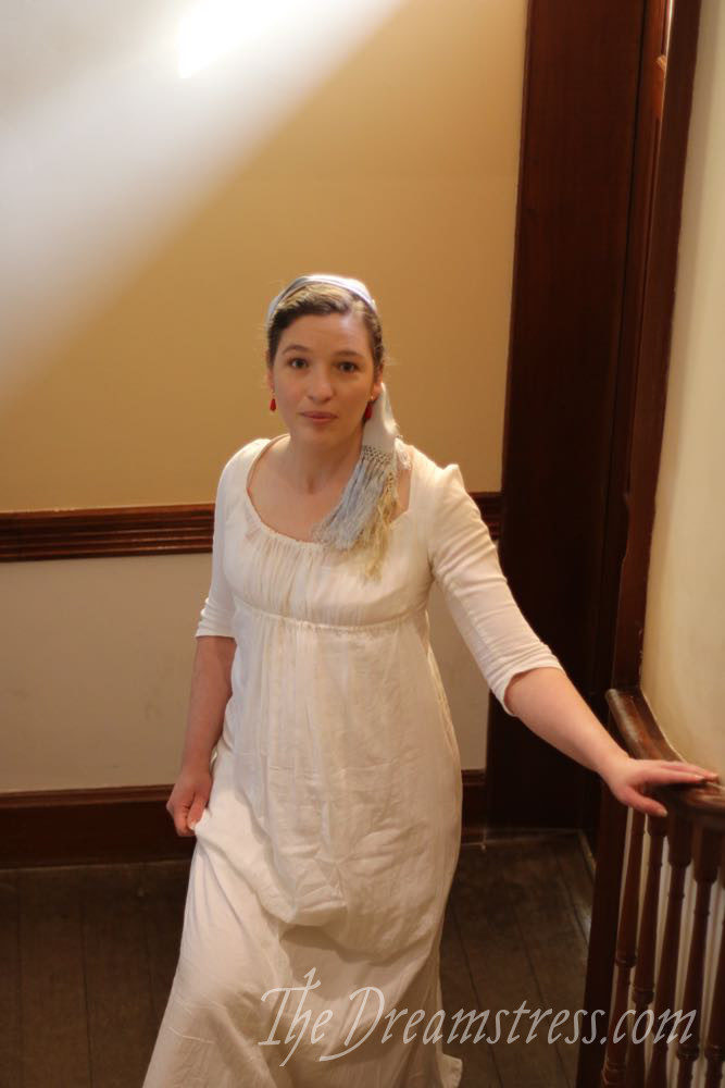1795-1800 muslin dress thedreamstress.com
