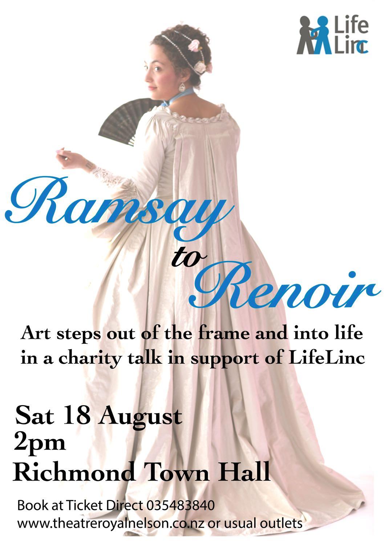 Ramsay to Renoir Fashion History Talk, 18/8/2018, Richmond, Nelson
