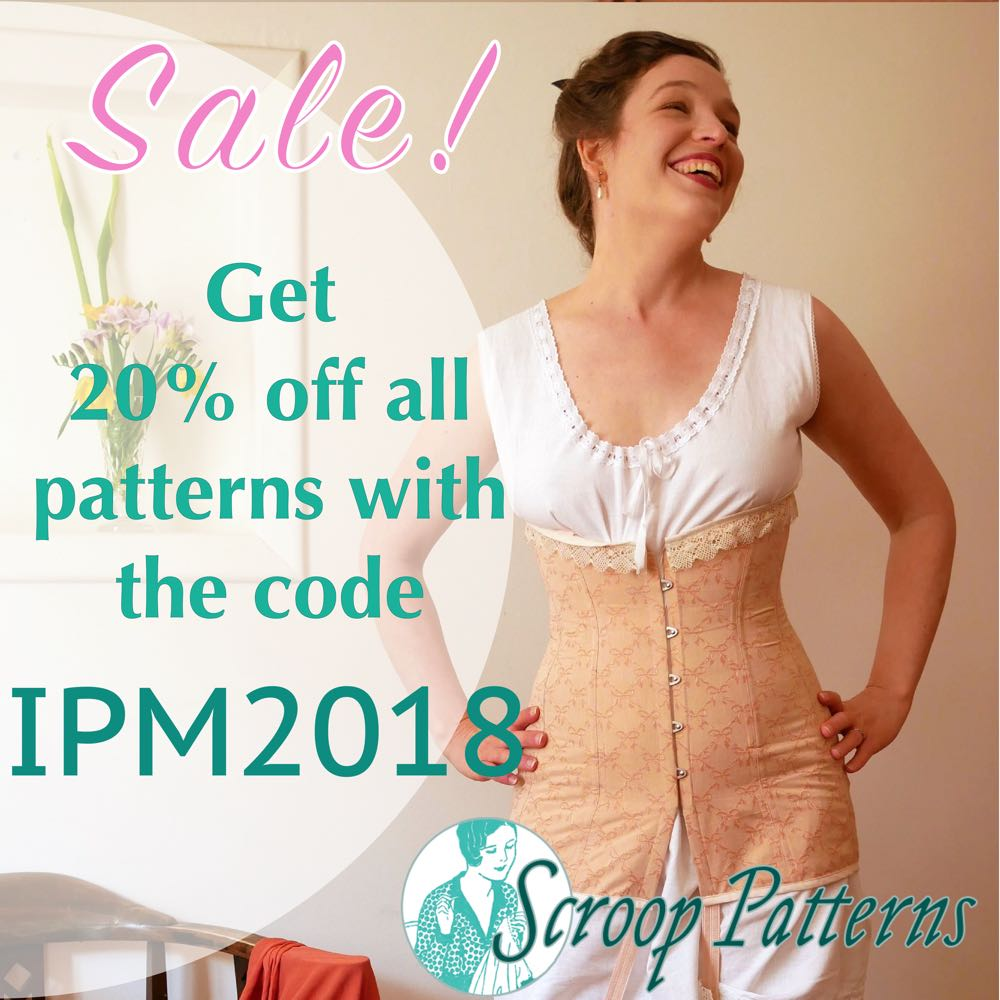 IPM2018 Sale Scrooppatterns.com