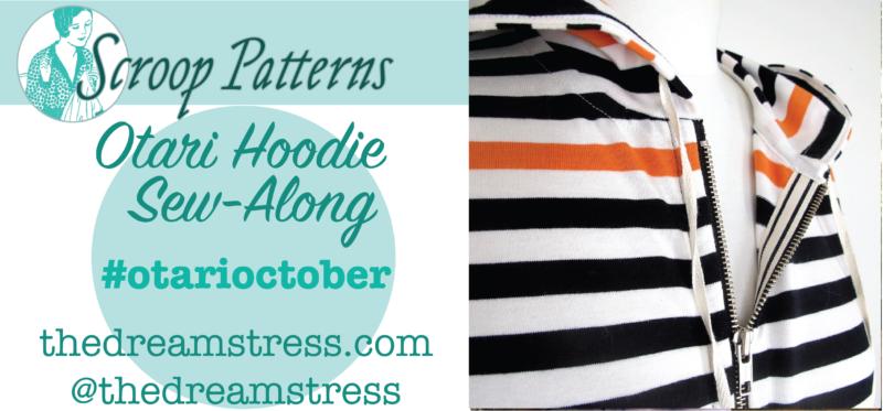 Otari Hoodie Sew Along thedreamstress.com