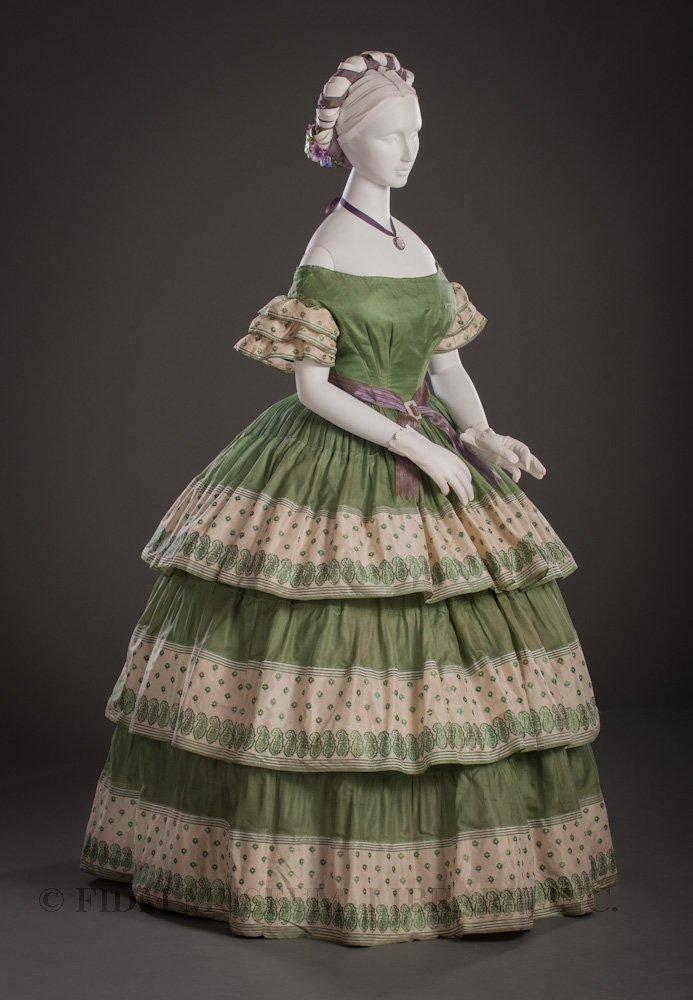 1850s Ballgown Minecraft Skin