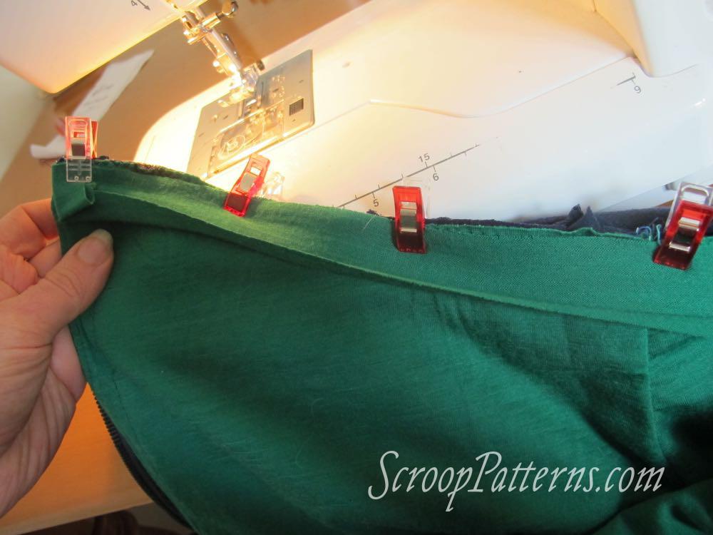 Otari Hoodie Sew Along Part 11 Finishing scrooppatterns.com