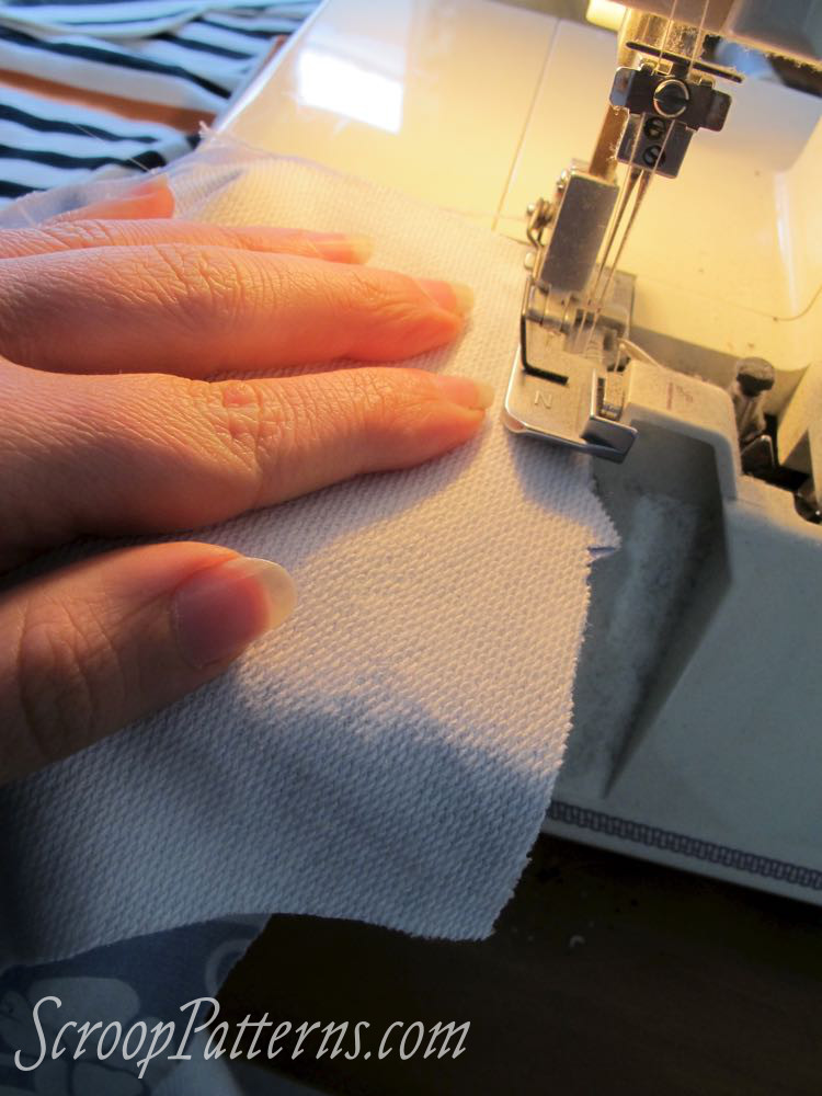 Sleeves & Body Assembly Otari Hoodie Sew Along scrooppatterns.com