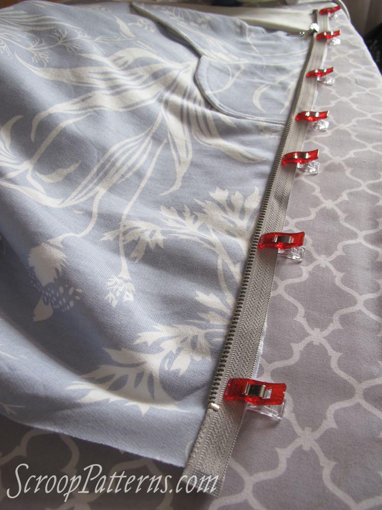Otari Hoodie Sew Along Zip scrooppatterns.com