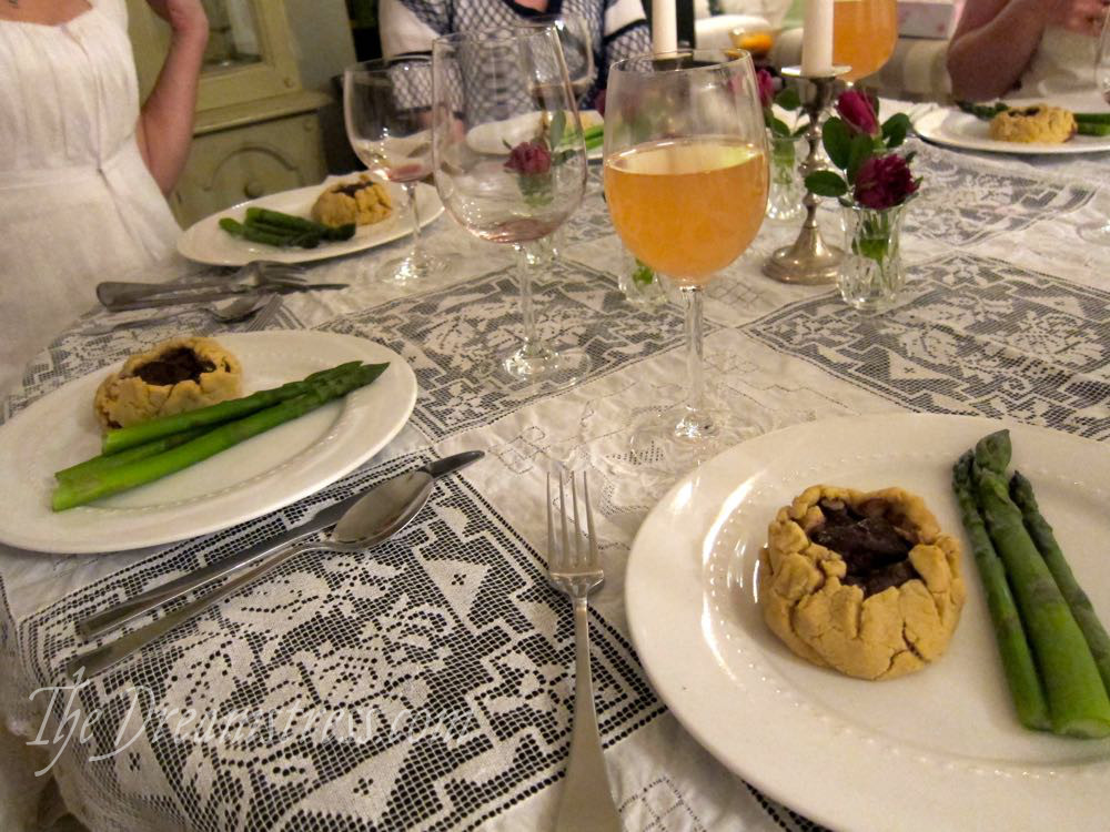 NZ Sew & Eat Historical Retreat Food thedreamstress.com