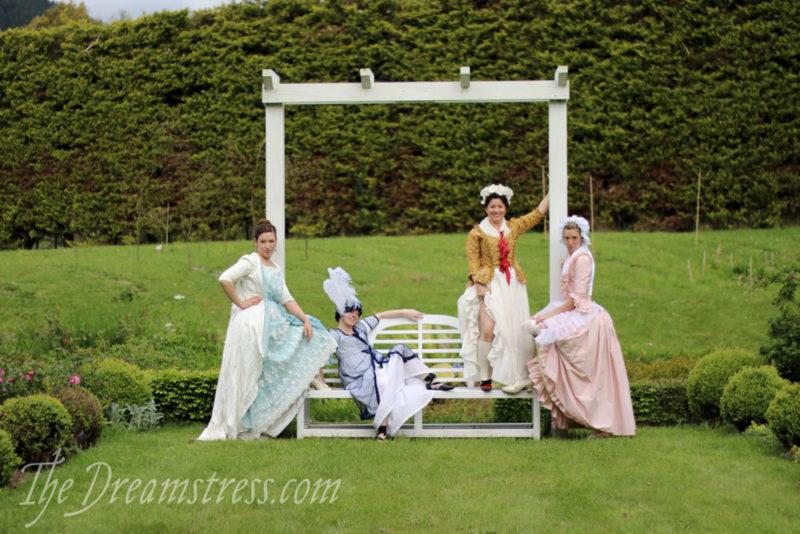 Sew & Eat Historical Retreat thedreamstress.com