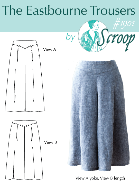 Scroop Patterns Eastbourne Trousers scrooppatterns.com