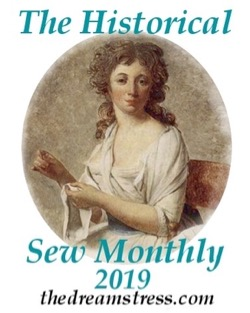 Historical Sew Monthly 2019