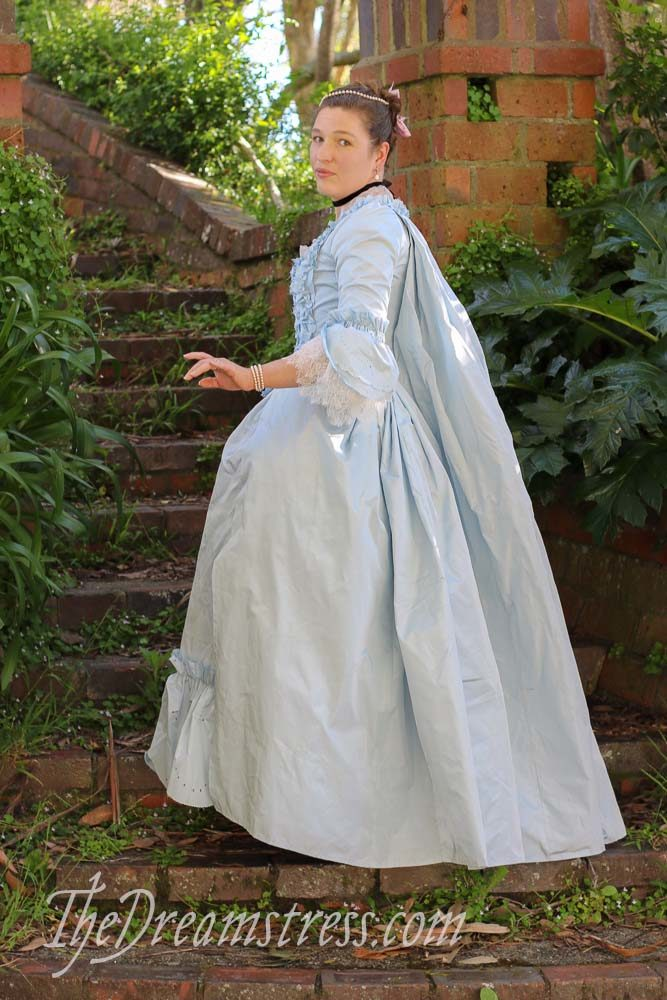 1760s Frou Frou Francaise thedreamstress.com