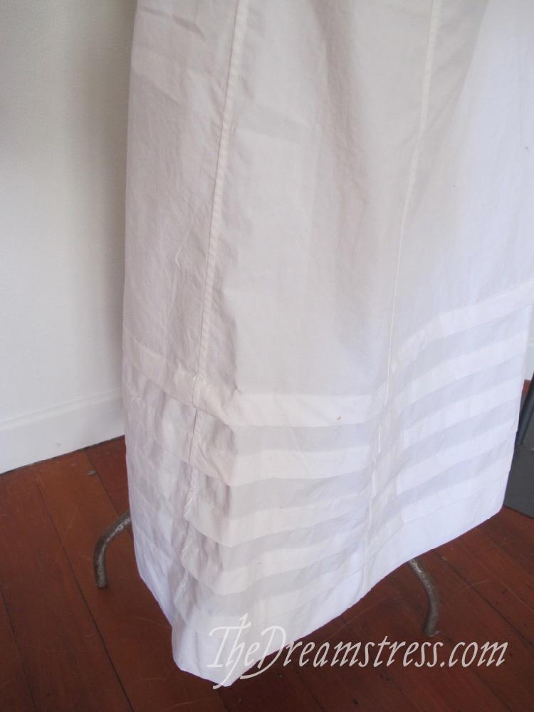 A Regency petticoat thedreamstress.com
