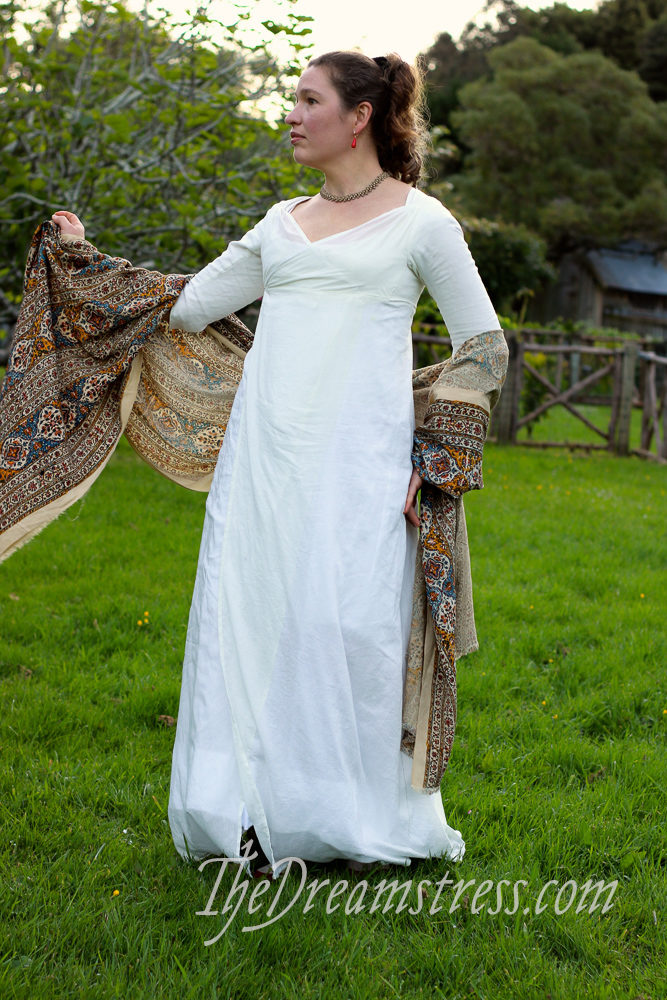 A ca. 1799 inspired regency dress thedreamstress.com