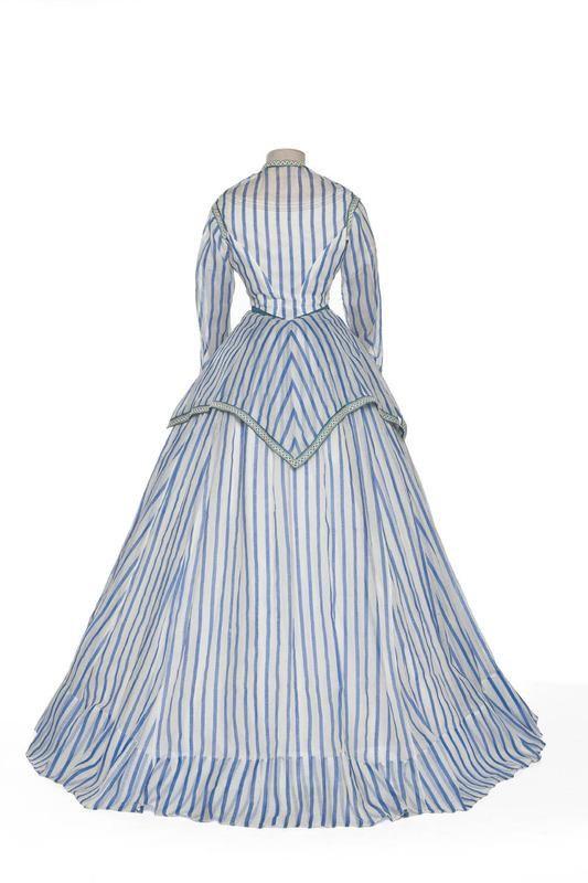 Robe à transformation (day bodice only), 1868-72, Les Arts Décoratifs