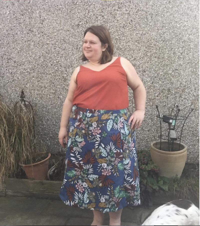 The Scroop Fantail Skirt by @sewdoitemma