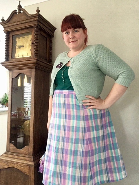 The Scroop Fantail Skirt made by @cottoncandydesigns