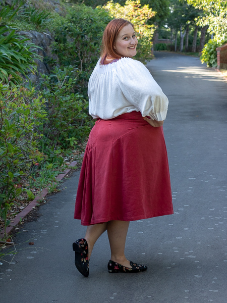 The Fantail Skirt by Scroop Patterns scrooppatterns.com