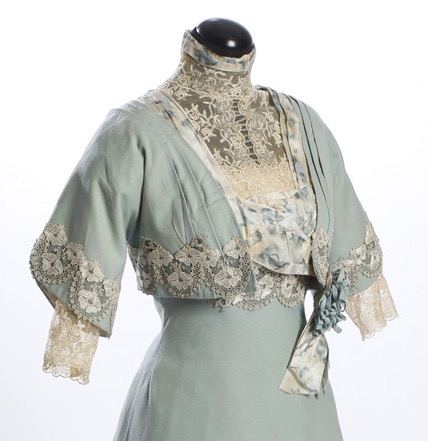 Wool dress, 1911, part of the wedding trousseau of Vendla Brown b. 1880, Sörmlands Museum, SLM11205A