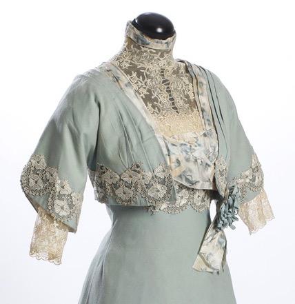 Wool dress, 1911, part of the wedding trousseau of Vendla Brown b. 1880, Sörmlands Museum, SLM11205A