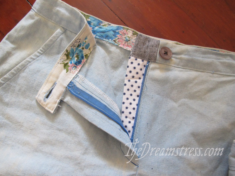 The Pants on Fire Shorts - Sewing & Sustainability