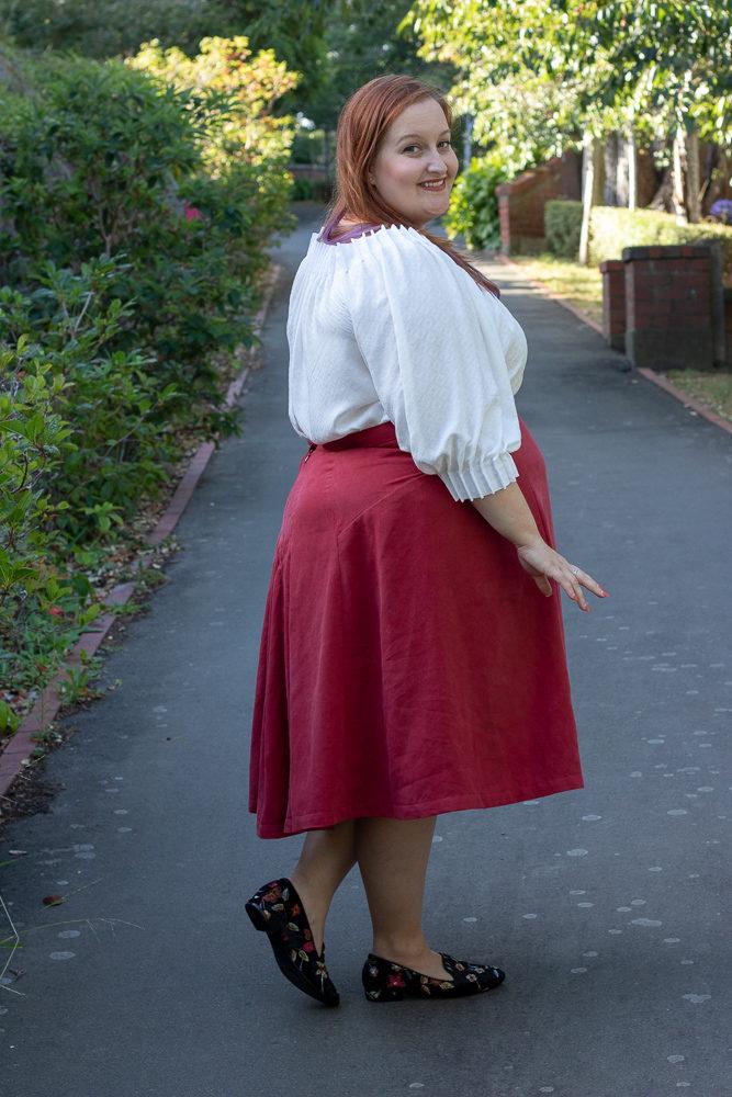 The Scroop Patterns Henrietta Maria dress & top & Fantail Skirt scrooppatterns.com