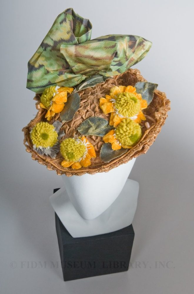 Hat, 1894-1895, Gift of the Manlove Family FIDM 2006.870.19C