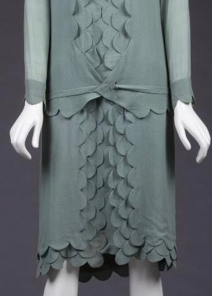 Afternoon dress, 1926, silk, The Goldstein Museum of Design
