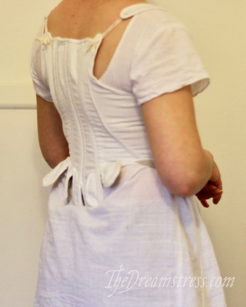 1790s jumps based on a pattern in Jill Salen's 'Corsets' thedreamstress.com