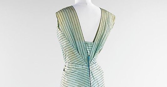 Evening ensemble, Elsa Schiaparelli, summer 1940; silk, metal, wool; French. The Metropolitan Museum of Art 2009.300.3165a,b. (1)