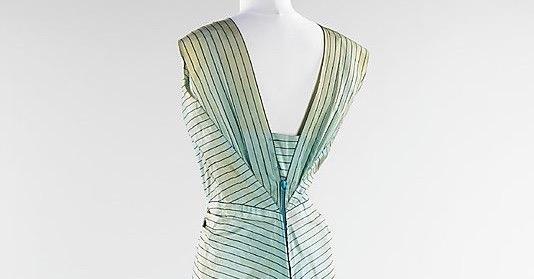 Evening ensemble, Elsa Schiaparelli, summer 1940; silk, metal, wool; French. The Metropolitan Museum of Art 2009.300.3165a,b. (1)