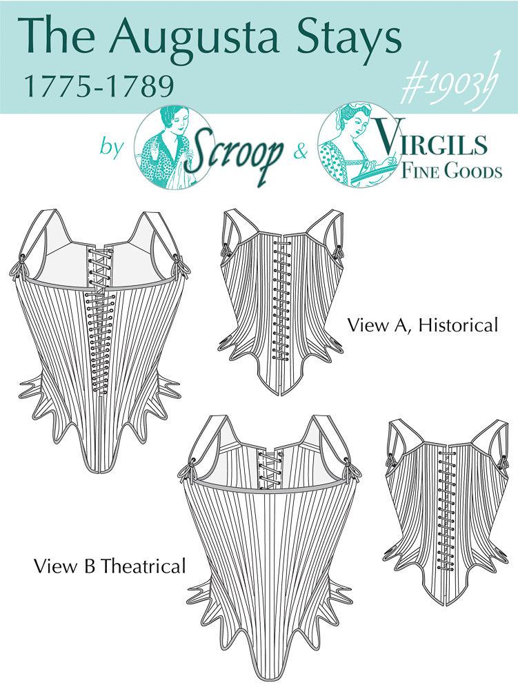The Scroop Patterns & Virgil's Fine Goods Augusta Stays scrooppatterns.com