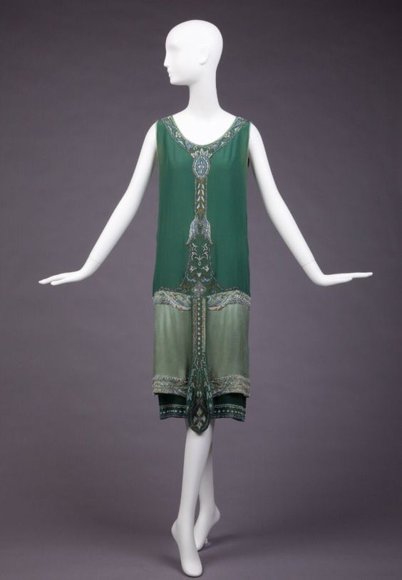 Dress, Callot Soeurs, 1925, GoldsteinMuseum