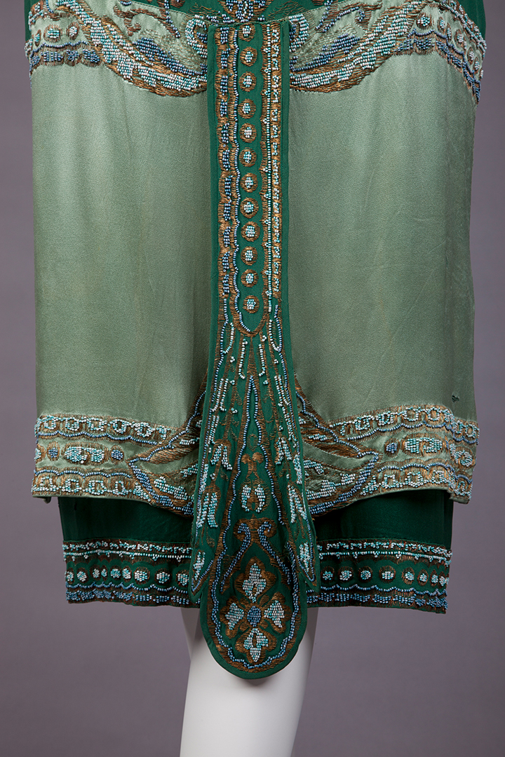 Dress, Callot Soeurs, 1925, Goldstein Museum of Design, 1990.003.005a-b