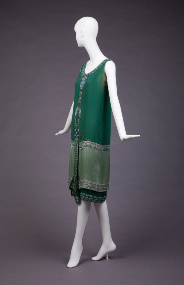 Dress, Callot Soeurs, 1925, Goldstein Museum of Design, 1990.003.005a-b
