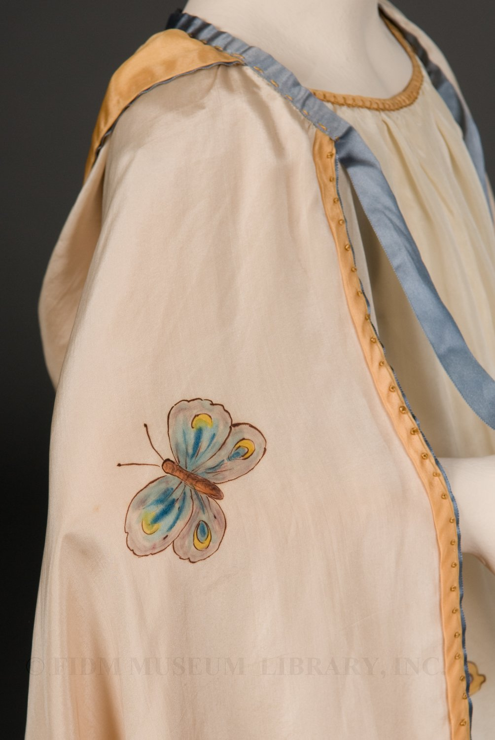 Child's 'Dainty Blossom' Ensemble, Daisy Stanford, Hand-painted silk, c. 1925, FIDM, 2003.5.24A-C