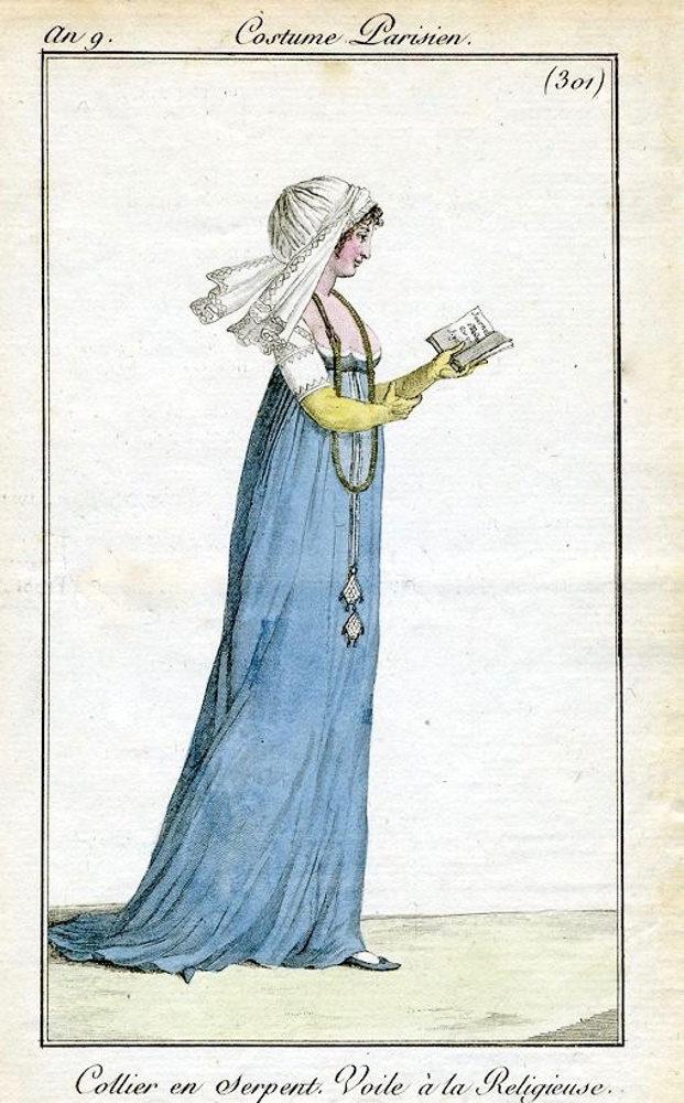 Costume Parisiene 1801,  Bibliothèque de Arts Décoratifs