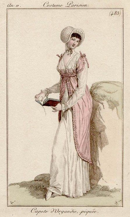 Costume Parisiene 1802,  Bibliothèque de Arts Décoratifs