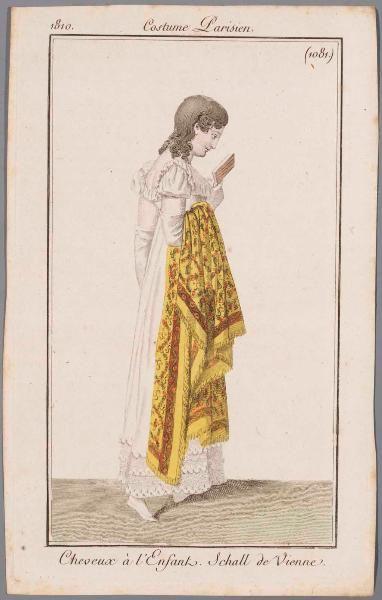 Costume Parisien 1810,  Bibliothèque de Arts Décoratifs