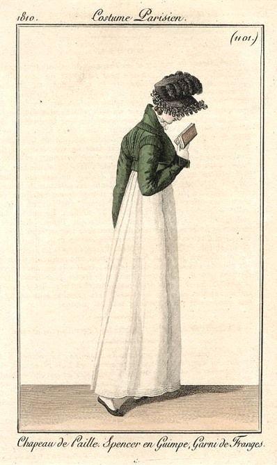 Costume Parisiene 1810,  Bibliothèque de Arts Décoratifs