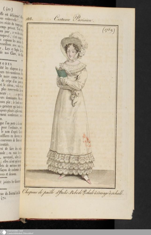 Costume Parisien, 1818