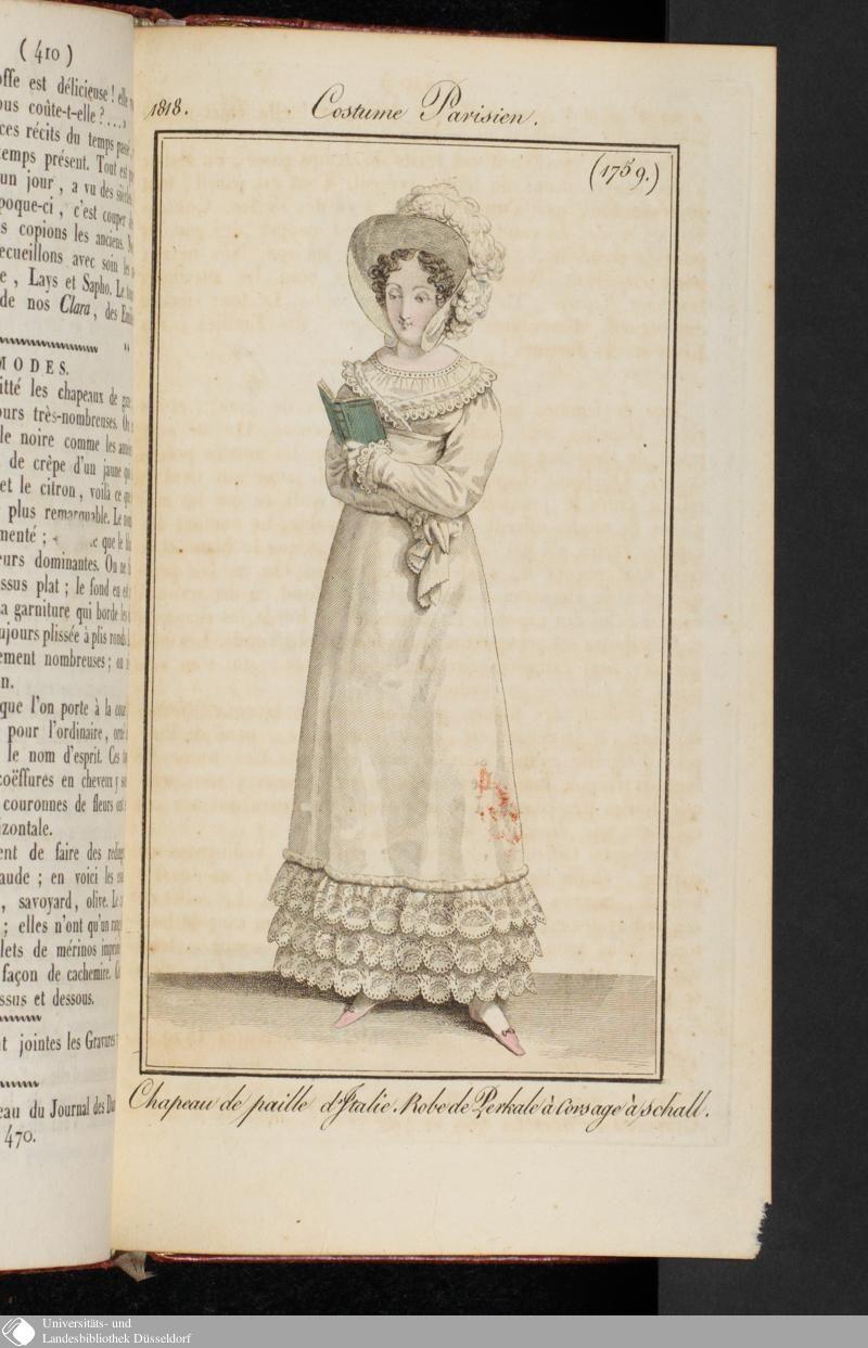 Costume Parisien, 1818