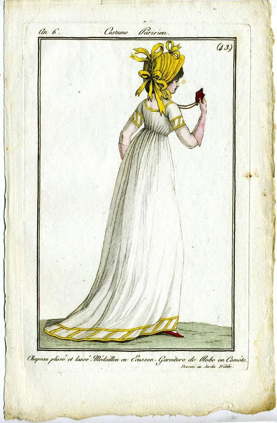 Costume Parisien, 1798